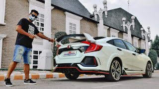 """First Time in INDIA """"Honda CIVIC Type-R"""" 😱"""