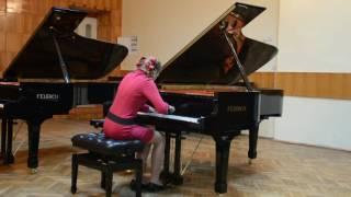 Олександра Макарова. І Міжнародний конкурс піаністів