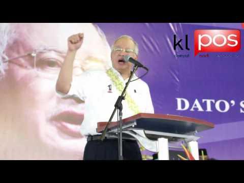 Ucapan Perdana Menteri Malaysia,Datuk Seri Najib Tun Razak Part 1.