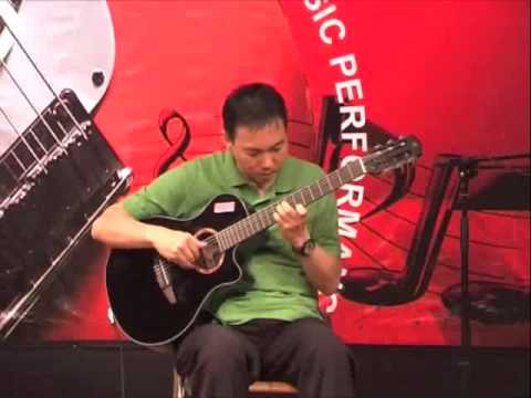 """Rame-Rame"" (Kayhatu/Leiwakessy) - arranged and permed on solo guitar by Jubing"
