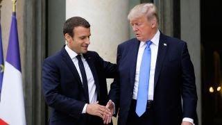 Trump's new best friend: France's Macron?