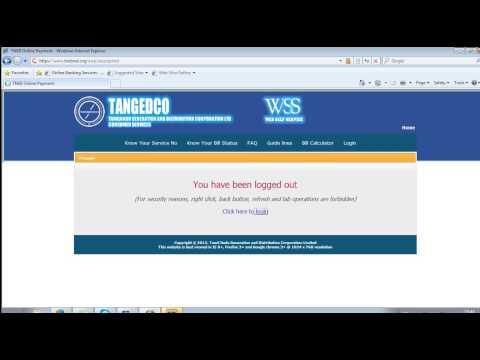 Delete TNEB Online Payment Account