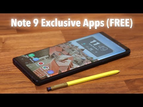 5 Must Have Apps for Samsung Galaxy Note 9 (FREE)