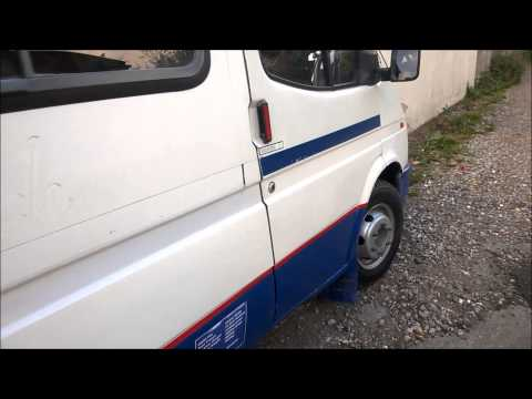 Ford Transit mini bus van to camper van conversion Part 1