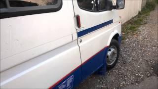 Ford Transit mini bus van to camper van conversion Part 1