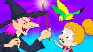 Groovy Марсианин - Groovy становится мышью, чтобы напугать ведьму...