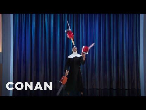 Nuns Are Going Viral  - CONAN on TBS
