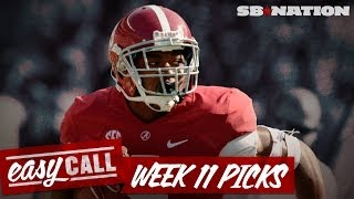 Week 11 College Football Spread Picks, Lsu Vs Alabama, Oregon Vs Stanford, And More (easy Call)
