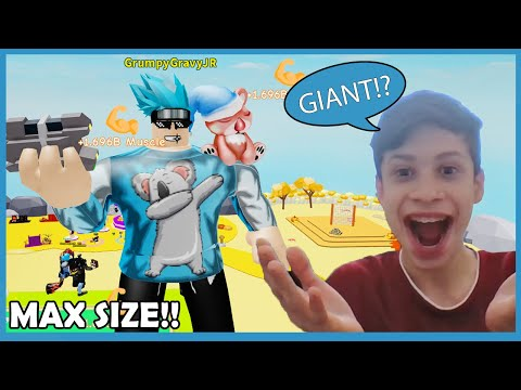 I Unlocked Stage 6 Body Alter For My Nephew! Biggest Size Ever! Roblox Lifting Simulator
