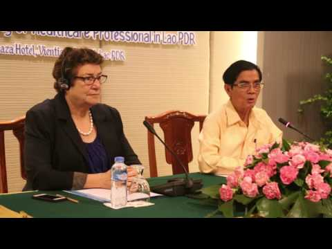 Draft regulatory framework for healthcare professionals needed in Laos