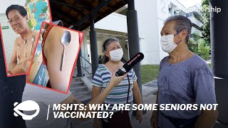 Why are some seniors not vaccinated in Singapore? | Mothership Hits The Streets