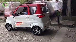 সোলার চার্জার এসি গাড়ি  ঢাকায়  | পাওয়া যাবে খুব কম দামে | Solar System Electric Car at Dhaka