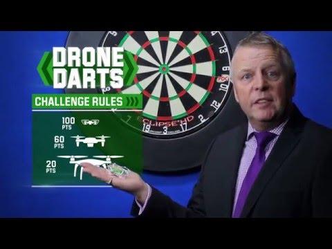 Unibet's '180 Drone Darts' Challenge!
