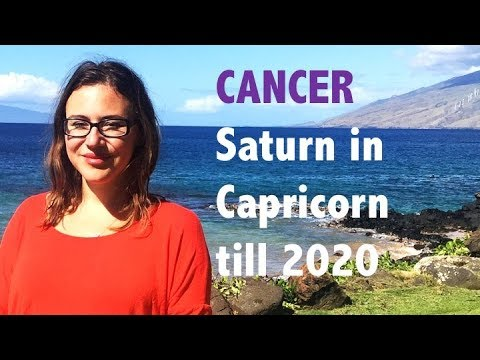 CANCER December 2017. SATURN in CAPRICORN Predictions for CANCER till 2020! Saturn transit 7th House