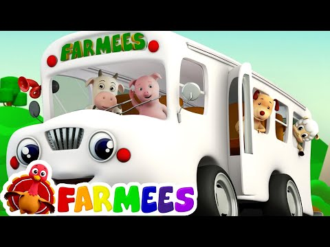 Thumbnail: The Wheels On The Bus | Nursery Rhymes Compilation | Kids Songs