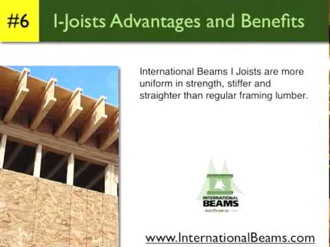 International Beams I Joist Span Tables Youtube