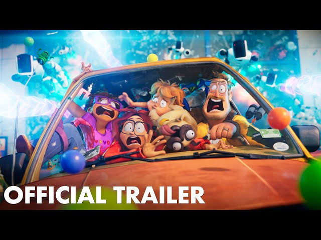 THE MITCHELLS VS. THE MACHINES - Official Trailer (HD)