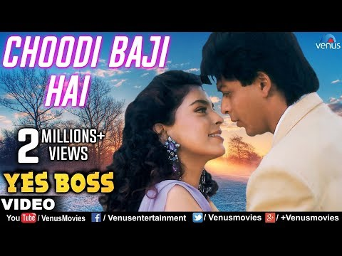 Choodi Baji Hai Kahin Door Full Video Song | Yes Boss | Shahrukh Khan, Juhi Chawla |