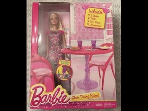 Barbie Glam Dining Room Review