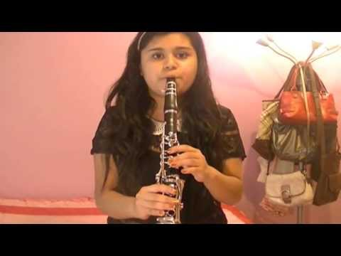 A Thousand Years-Christina Perri (Clarinet Cover)