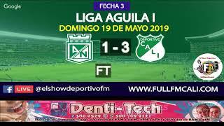 #ENVIVO I Atlético Nacional vs Deportivo Cali I Fecha 3 I Cuadrangulares I Liga Águila I