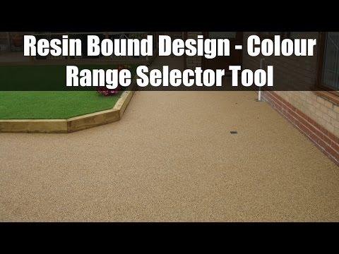 Resin Bound Design - Colour Range Selector Tool