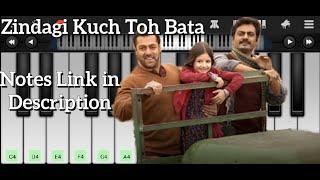 Zindagi Kuch Toh Bata Song On Piano | Piano Tutorial | By Piano Pal