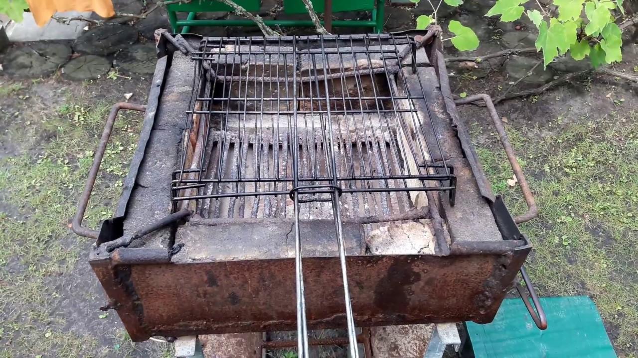 Как помыть сетку барбекю? Моем сетку для приготовления мяса на углях.