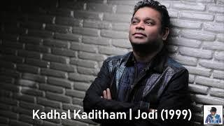 Kadhal Kaditham | Jodi (1999) | A.R. Rahman [HD]