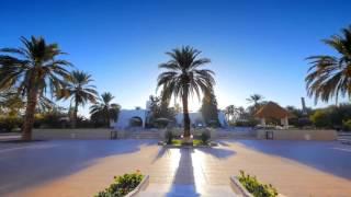 المركب السياحي الغزال الذهبي تحفة معمارية و مكان سياحي مذهل في قلب الصحراء الجزائرية