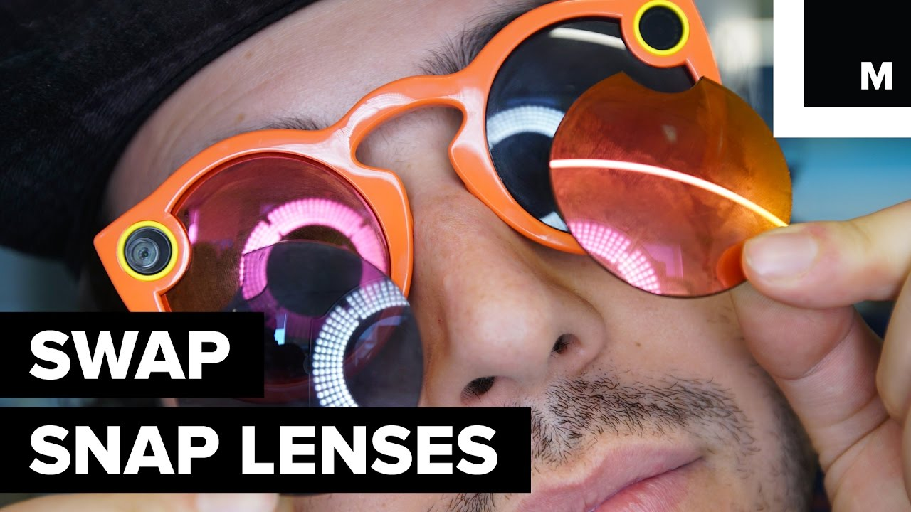 1fc6943c58 Snap Spectacle lenses swap - YouTube