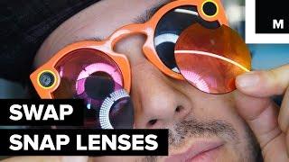 Snap Spectacle lenses swap