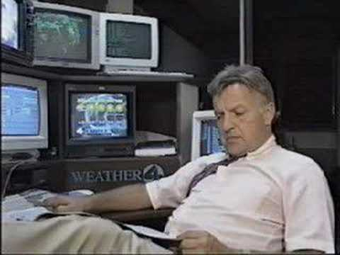 Weather Man Bruce Asbury IGNORES Severe Weather-Fargo, North Dakota