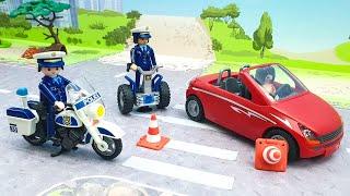 Мультики про машинки - Видео для детей с игрушками Щенячий Патруль Плеймобил для малышей.