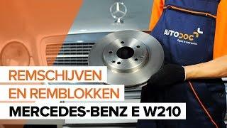 Mercedes W212 – playlist met video's over autoherstel