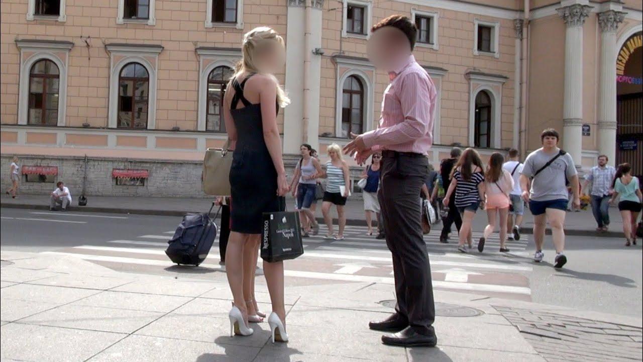 Пикап девушек на улицах санкт петербурга
