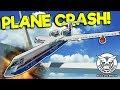 HUGE PLANE VS WIND TURBINE CRASH Stormworks Build And Rescue Gameplay Plane Crash Survival mp3