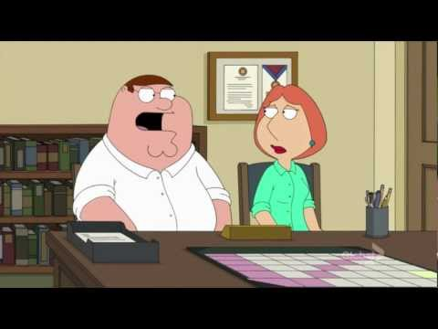 Family Guy - Cats with jobs