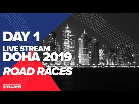 Day 1 Live Stream | World Athletics Championships Doha 2019 | Women's Marathon