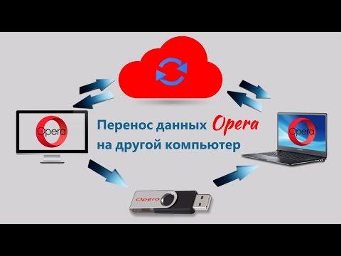 Как перенести данные Opera на другой ПК