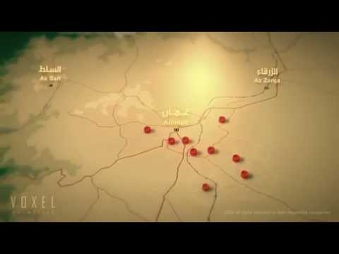 Historical Secret Rujms of Amman - JM Documentary Graphics