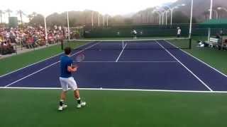 【テニス】マレー&ワウリンカのラリー