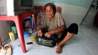 Cụ bà gần 100 tuổi bị con bỏ rơi giờ ra sao?