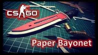 How to make Paper Bayonet from CS:GO