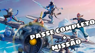 FULL PASS-WEAPONS SKINS AND DANCE IN FORBIDDEN PLACES-FORTNITE-MISSION