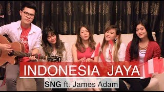 Video HUT RI Ke-73 🇮🇩 [COVER] INDONESIA JAYA SNG ft. James Adam download MP3, 3GP, MP4, WEBM, AVI, FLV November 2018