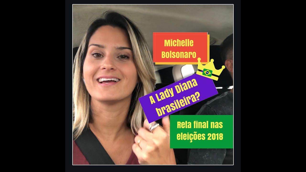 Michelle Bolsonaro nova Lady Diana brasileira #retafinal eleições 2018