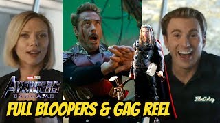 Avengers: Endgame Full Bloopers and Gag Reel | Hilarious Marvel Outtakes