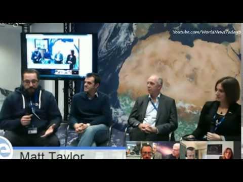 Rosetta Comet Scientist Dr Matt Taylor Apologises For