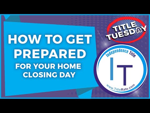 How To Get Prepared For Your Home Closing Day